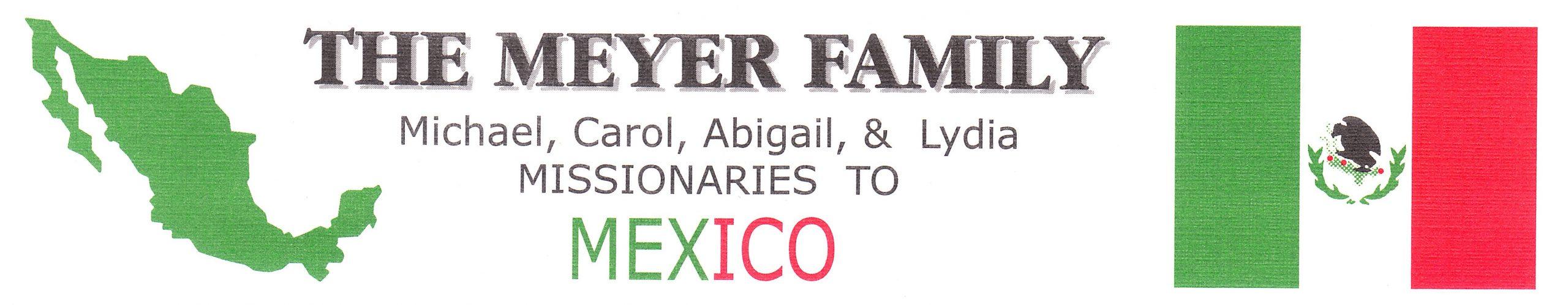 Meyer Family Newsletters